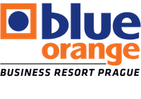 logo blue orange
